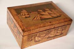 Fine Trinity House Nautical Sewing Box - Rafael Osona Auctions Nantucket, MA
