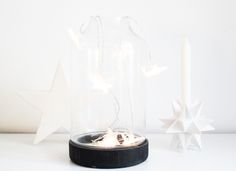 worry about it later: interior: christmas decoration minimal xmas black and white christmas deco nordic inspo White Christmas, Xmas, Minimalism, Christmas Decorations, Candles, Black And White, Interior, Home Decor, Christmas Decor