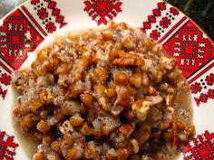 Kutia for Ukrainian Christmas! Ukrainian Recipes, Russian Recipes, Ukrainian Food, Ukrainian Christmas, Christmas Eve, Little Muffins, Gourmet Recipes, Healthy Recipes, Great Recipes