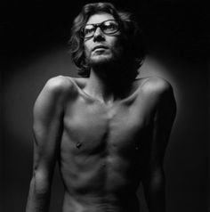 Yves Saint-Laurent / Photo by Jeanloup Sieff