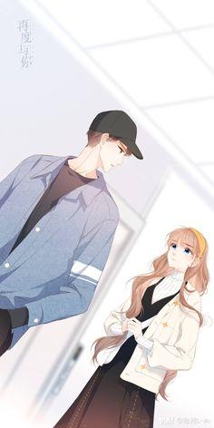 再度与你 - Again with You Romantic Anime Couples, Romantic Manga, Cute Couples, 5 Anime, Anime Comics, Anime Chibi, Manga Couple, Anime Love Couple, Anime Couples Drawings