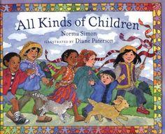 All Kinds of Children by Norma Simon http://www.amazon.com/dp/0807502812/ref=cm_sw_r_pi_dp_El2mub1XS2705