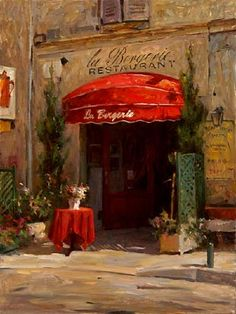 La Bergerie by Leonard Wren- Limited Edition Giclée on Canvas - 40 x 30 Paintings I Love, Beautiful Paintings, Famous Artists, Great Artists, Impressionist Art, Wren, American Artists, Cool Art, Canvas