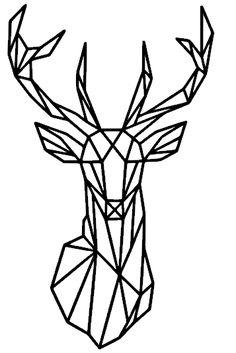 **Geometrisch Hert - www.kija-handmade.nl