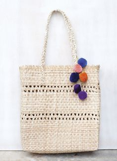 PIN US WIN US! This item is woven in the highland area of Guatemala from dried palm leaves that grow prolifically in the area. The women weave from their homes, and take great pride in their work.