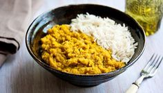 Tarka dal with rice - it's about time I tried making this, always wanted to give it a go