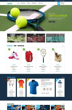 Leo Tennis Prestashop, best theme, prestashop version 1.6.0.8, Responsive