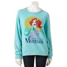 Mighty Fine Disney The Little Mermaid Sweatshirt - Juniors
