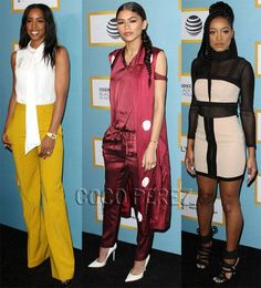 Kelly Rowland, Zendaya, & Keke Palmer Go In Different Style Directions At The Essence Luncheon