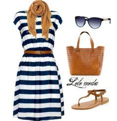 Cool summer dress, http://www.lolomoda.com