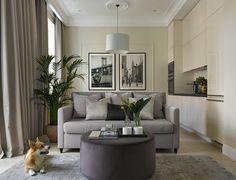 Для себя любимой: квартира молодой девушки в Москве (54 кв. м) | Пуфик - блог о дизайне интерьера