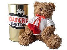 Kuschelkonserve lieber Teddy
