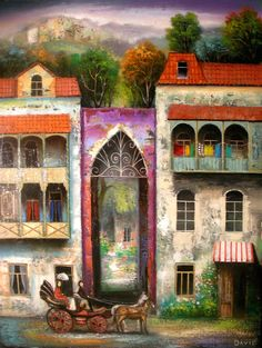 David Martiashvili - Old Tbilisi