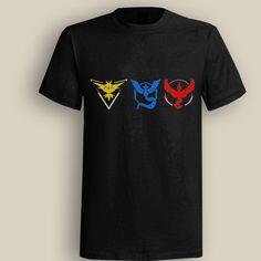 Three Team Black T shirt, T shirt for Men, Women, Girl, Boy, XS, S, M, L, XL, XXL, 3XL,  Size, Customized