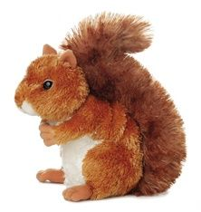 Nutsie the Brown Squirrel (Mini Flopsies) at theBIGzoo.com, a toy store with over 12,000 products.
