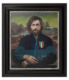 Artista britânico transforma retratos de jogadores em obras de arte