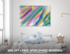 Discover «Ribbons In The Sky», Limited Edition Acrylic Glass Print by Glink - From $99 - Curioos