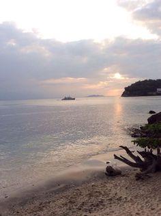 Sunset at Tali Beach