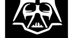 Darth Vader Stencil.svg