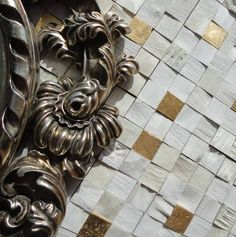 Brogliato Revestimentos - Coleção Diálogo - C101 Decapê Branco - 30x30cm