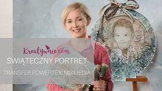 Transfer zdjęcia na drewno - portret, DIY tutorial