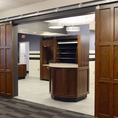 Who's hungry? Here is a peek at the new food service area near the dining room at the newly renovated Dominican Center. #msmcNY #college