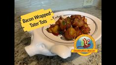 Everybody loves tater tots! How so more when you wrap them with bacon and add cheese to boot? Fabulous appetizer or party snack. Easy and delicious! Try it today! Bacon Videos, Bacon Wrapped Tater Tots, Best Bacon, Bacon Recipes, Party Snacks, Chicken Wings, Appetizers, Cheese, Breakfast