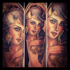 done by claudia de sabe