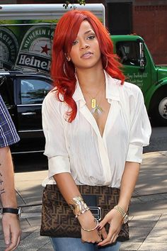 ;) love everything about this hair,clothes,RiRi everything
