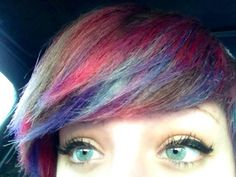 My daughter's sea glass green eyes - so beautiful! She should model Maybelline mascara.