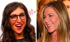 """#ICYMI - Mayim Bialik shares a 90's throwback with Jennifer Aniston on the set of """"Molloy!"""" http://huff.to/1XWzHpC via The Huffington Post"""