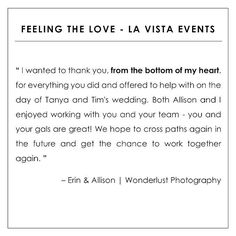 cool vancouver wedding Testimonial Tuesday! We absolutely loved working with @wonderlust_photography for #timandtanya2015's wedding  #LaVistaEvents #LaVistaLove by @lavistaevents  #vancouverwedding #vancouverwedding