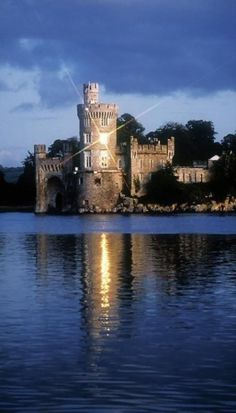 Blackrock Castle and River Lee (Near Cork), Ireland