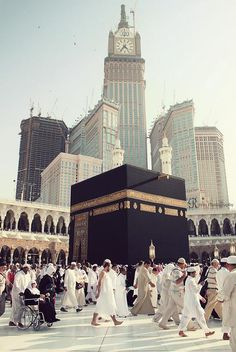 Idol worshipping... ur sins are not forving just by touchin the Kabba