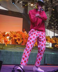 Tyler, The Creator performing