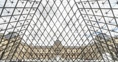 'Louvre Museum, Paris, France' Poster by Kiguni Free Pictures, Best Funny Pictures, Wall Prints, Canvas Prints, Glass Building, Instant Video, Europe, In Vino Veritas, Photo Wallpaper