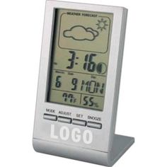 Weather Forecast Desk Clock. Let us source and imprint that perfect Promotional item or Gift  for your Business. Get a Free Consultation here:  http://www.promotion-specialists.com/contact-us/get-a-free-consultation/