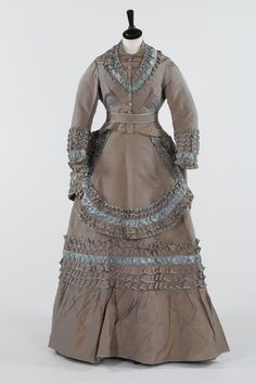 Day dress ca. 1870  From Kerry Taylor Auctions
