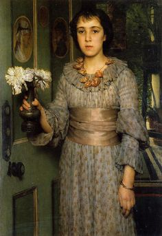 Alma-Tadema: Portrait of Anna by deflam, via Flickr