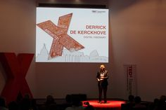 TEDxTransmedia ROME 2012 - Derrick De Kerckhove - Speaker