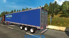Usa Utility Trailer 3000r v1.0 - ETS2MODS.EU - Euro Truck Simulator 2 Mods