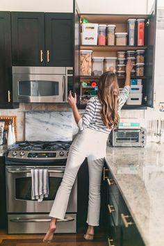 My 3 Step Method For Organizing Your Kitchen + Feeling Like A New Woman