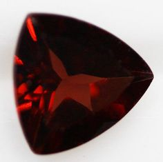 Almandine Garnet Trillion Cut x Africa Gemstone Raw Stone Jewelry, Under The Surface, Gems And Minerals, Garnet, Africa, Jewels, Gemstones, Crystals, Gems