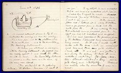 Alexander Graham Bell's notebook entry of March 10, 1876