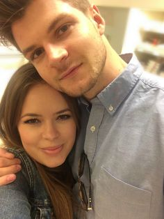 Jim Chapman and Tanya Burr. Literally one of the cutest youtube couples ever!