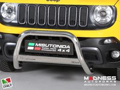 2015 Jeep Renegade - Jeep Renegade Bumper Guard - Front - Medium Bumper Protector by Misutonida - Trailhawk - MADNESS Autoworks - Auto Parts and Accessories