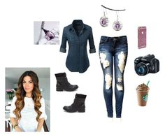 """""""Lillian Nicole Mason"""" by moon-me-stars ❤ liked on Polyvore featuring LE3NO"""