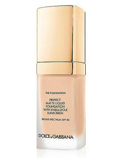 Dolce & Gabbana Matte Liquid Foundation
