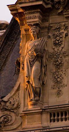 """bluepueblo: """"The Louvre, Paris, France photo via nathalie """""""