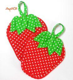 strawberry hotpad